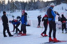 Mange benyttet anlednigen til en fin skitur selv om rennene ble avlyst
