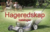 kataloger fra produsenter og leverandører av hageredskap og maskiner