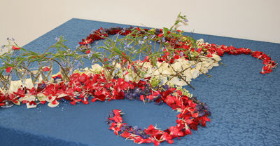 Blomsterbladerbord