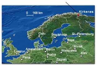 kirkenes kart Kirkenes.no : Hvor i all verden er Kirkenes? kirkenes kart