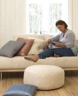 Skal rommet brukes til avslapping og rekreasjon, bør det gjenspeiles i et dempet fargevalg.