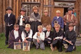 Skuleelever 1980-tallet