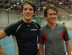 Helge Langen og Anders Boye løp 8x600m. Her før siste intervallet.