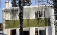 Slike istapper er et klart tegn på at noe bør gjøres med taket. Foto: SINTEF Byggforsk