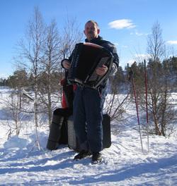 Jan Sturla Jensvold sørget for musikk.