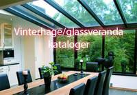 Her har vi samlet diverse kataloger for vinterhage, hagestue, glassveranda og innglassing.