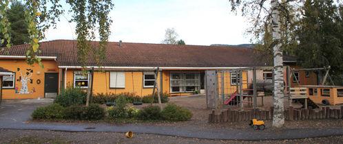 Bjørkebo barnehage fra utsiden.
