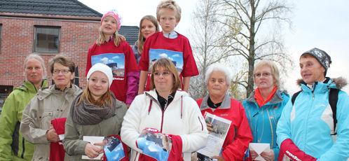 Vinnerne av 10 topper i Ringsaker 2011.
