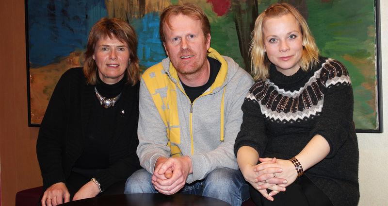 Heidi T. Karlsen, Bjørnar Bakke og Solbjørg Tveiten inviterer til bransjetreff.