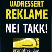Nei til uadressert reklame, Fotograf: Logo