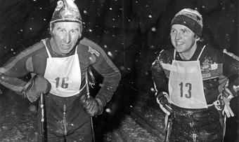 Harald Grønningen og Edvin Bakken