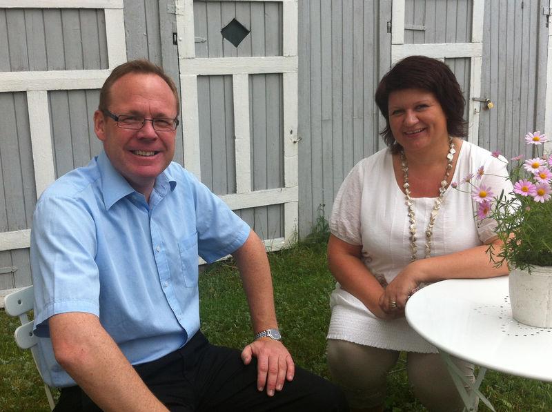 – Vi er klare som bare det, sier rådmann Jørn Strand og ordfører Anita Ihle Steen i Sønesgården.