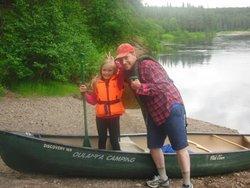 Ruka,Kuusamo,Finland,paddling