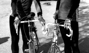 Syklister rindal 2 Per og Arnfinn