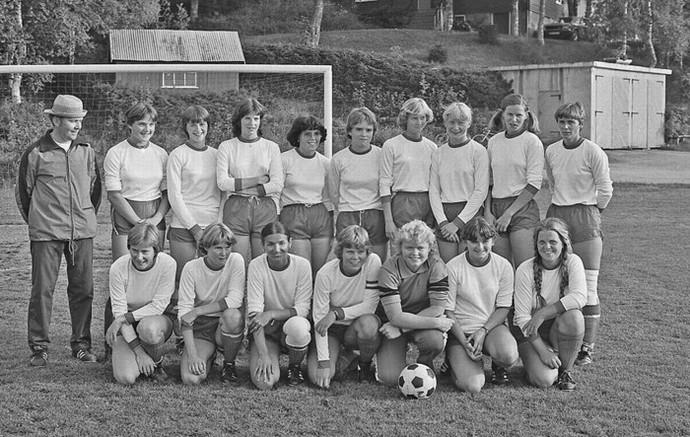 damefotball 1980