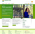 webside landkreditt bank