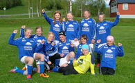 Glade jenter etter seier over Meldal