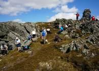 Fra TT-veteranenes tur til Skåkleiva i sommer