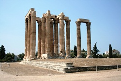 Zeus temple, Athens,Greek