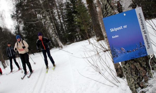 Skipostene på Hedmarken er tilgjengelige fra 22. desember til 22. april.