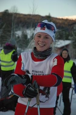 Vinner av dameklassen, Anne Kjersti Kalvå fra Lundamo