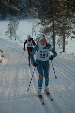 Hanne Loe, Vollan og Line Nilsskog, Byåsen SK, J14