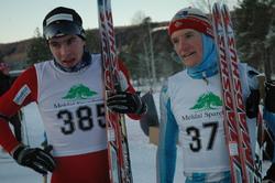 Hallvard Løfald og Lars Moholdt, begge Rindals-Troll