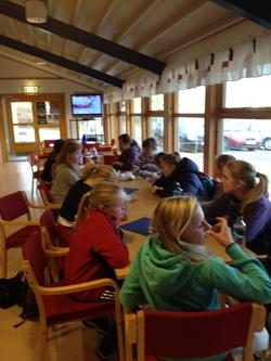 Lunsj i Frøyahallen