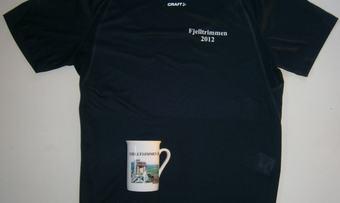 Fjelltrimkrus og T-skjorte