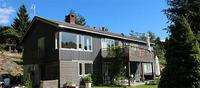 Hus malt med Silver Rocks fra Nordsjö.