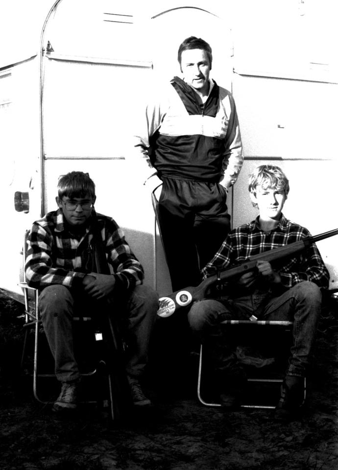 Landsskytterstevnet Steinkjer 1988 Asbjørn og Jostein Helgetun og Lars Moe_1024x1424