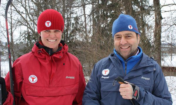 Margrethe Ruud Skjeseth og Asle Berteig.