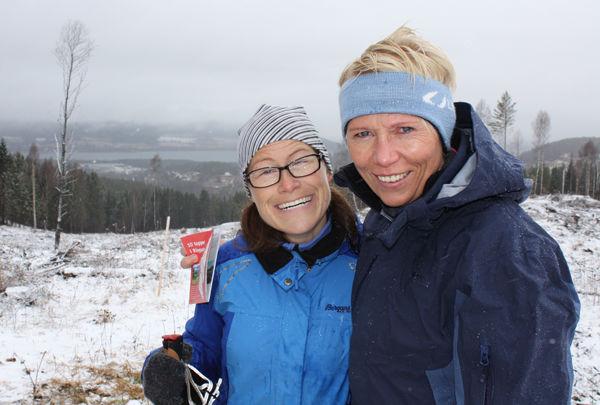 Kari Olestad og Wenche Enge på Øvre Fosstua
