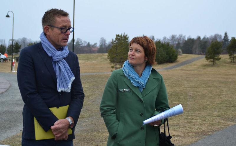 Prosjektlederne Tor Rullstad og Eli A. Bryhni.