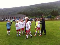 Glade gutter etter seier over Melhus i semifinalen!