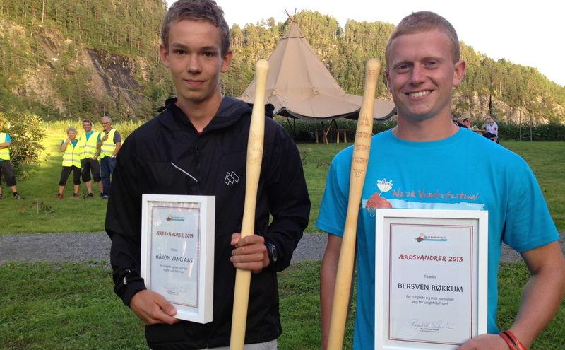 NorskVandrefestival-Æresvanderere2013