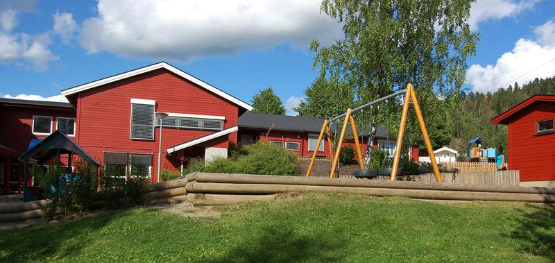 Buttekvern barnehage fra utsiden.