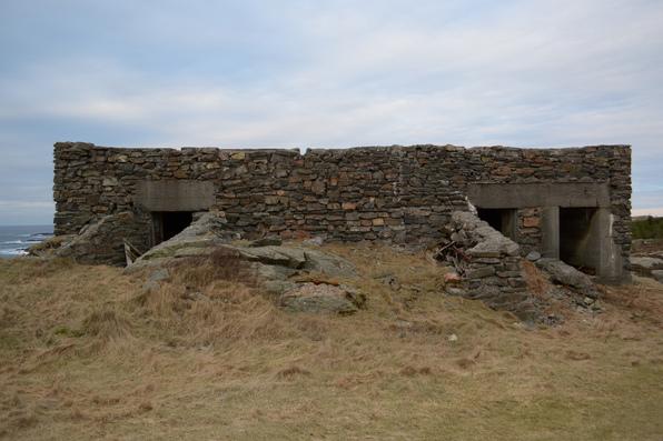 Ammunisjonsbunker frå 2.verdenskrig i Vinappen