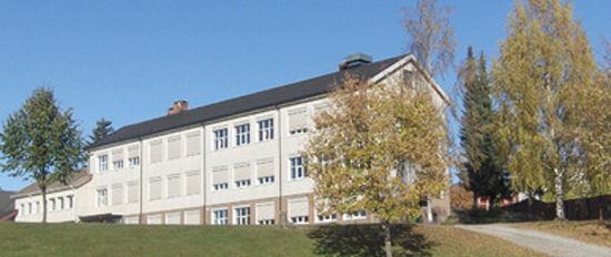 Kylstad skole fra utsiden.