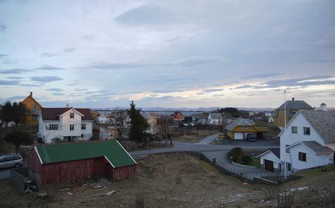 Utsyn over Kopper ein vintermorgon. Foto: Even Vaular, 2014