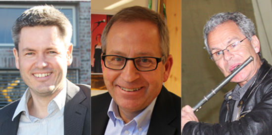 Sverre Rudjord, Espen Hvalby og Hogne Moe.