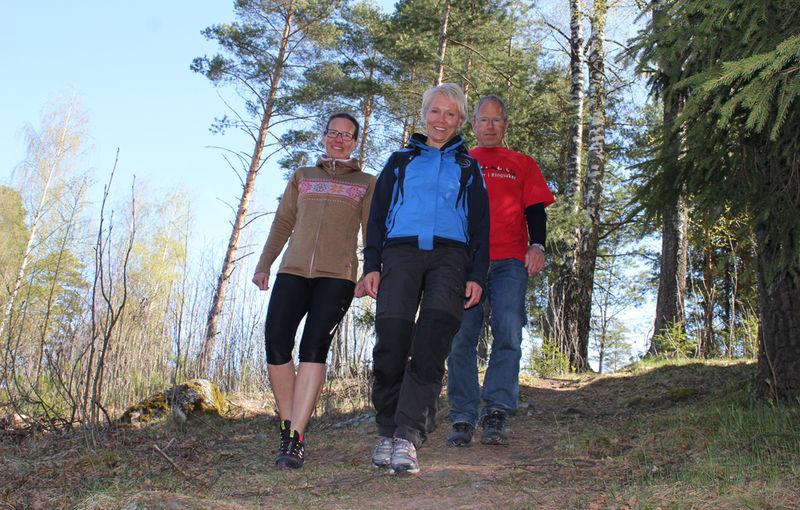 Kine Reiersen, Wenche Enge og Erik Ilseng.