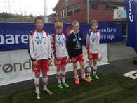 Sølv-vinnere i Astor-cup 2014