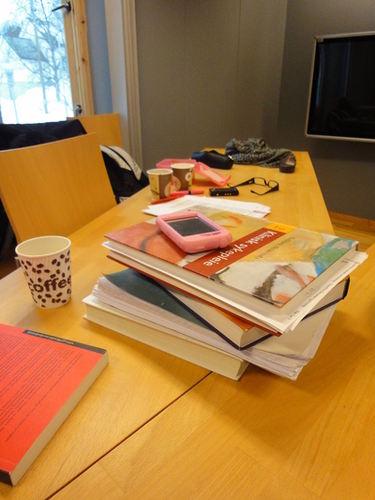 Studiebibliotenene Foto: Skjervøy folkebibliotek