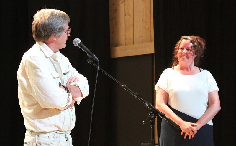 Ole Karlsen og Sylvia Brustad.