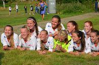 Lagbilde 27. juli 2014 etter seier 7-0 over Grüner på Ekebergsletta, Norway cup