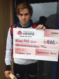Aksel vant Midt-Norsk Rulleskicup