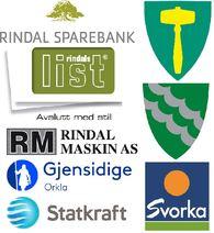 De største bidragsyterne til Rindalshallen så langt. Takk for støtten!