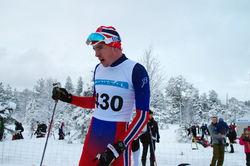Hallvard Løfald, Rindal IL/Team Veidekke, nr 3 i senior-klassen