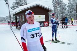 Jo Svinsås, Rindal IL, nr 5 i klasse M18 år.
